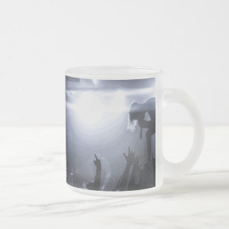 Scream it out! frosted glass coffee mug