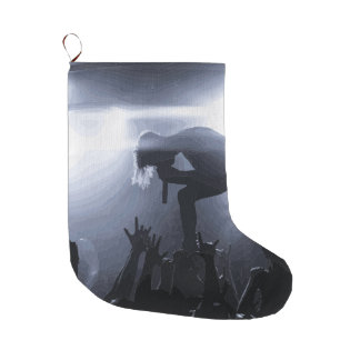 Scream it out! large christmas stocking