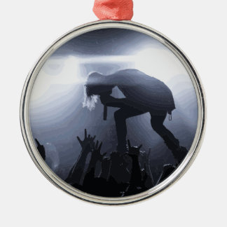 Scream it out! metal ornament