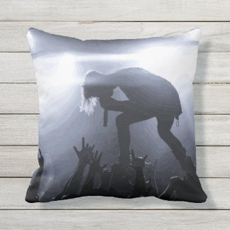 Scream it out! outdoor pillow