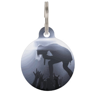 Scream it out! pet tag