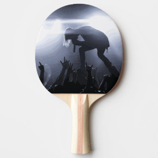 Scream it out! ping pong paddle