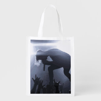 Scream it out! reusable grocery bag