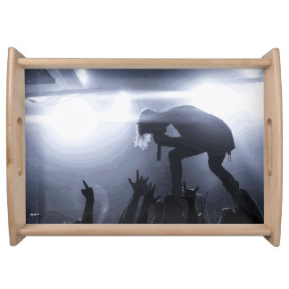 Scream it out! serving tray