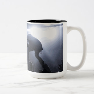Scream it out! Two-Tone coffee mug