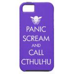 Scream Panic and Call Cthulhu iPhone 5/5S Case