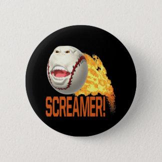 Screamer 2 Inch Round Button