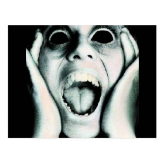 Screamer Postcard