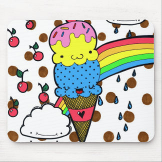 Screaming For Ice Cream Mousepad