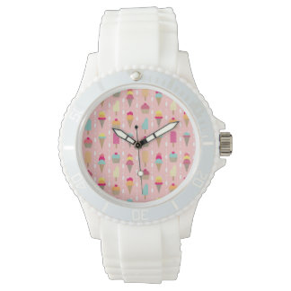 Screaming for Ice Cream Wrist Watch