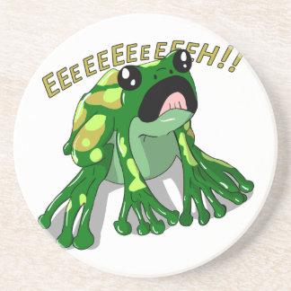 Screaming Frog Doodle Noodle Design Coaster
