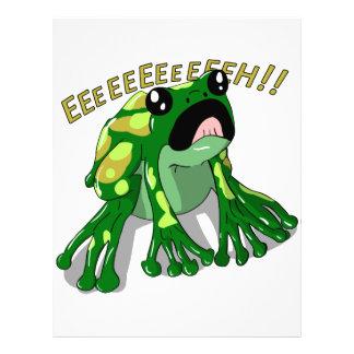 Screaming Frog Doodle Noodle Design Letterhead
