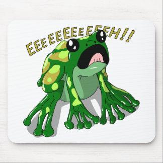 Screaming Frog Doodle Noodle Design Mouse Pad