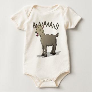 Screaming Goat Doodle Noodle Designs Baby Bodysuit