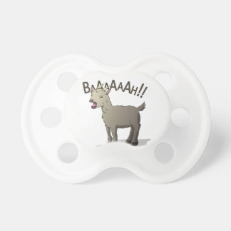 Screaming Goat Doodle Noodle Designs Pacifiers