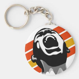 Screaming keychain