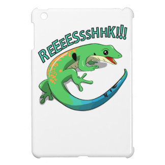 Screaming Lizard Doodle Noodle Design iPad Mini Cover