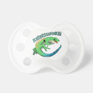 Screaming Lizard Doodle Noodle Design Pacifiers