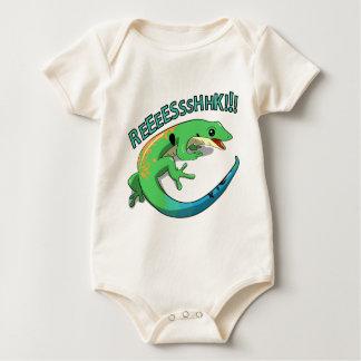 Screaming Lizard Doodle Noodle Designs Baby Bodysuit