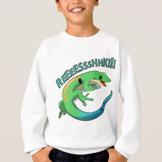 Screaming Lizard Doodle Noodle Designs Sweatshirt