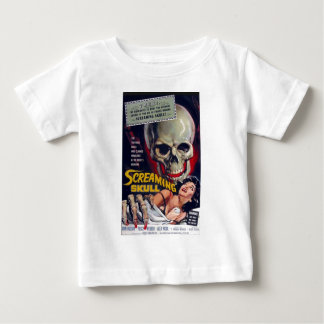 Screaming Skull Baby T-Shirt