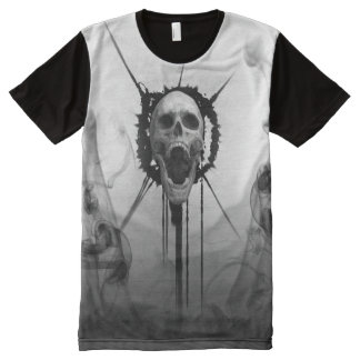 Screaming Skull Eternal Death Scream T-shirt