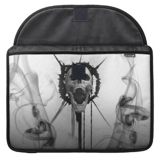 Screaming Skull Macbook pro Sleeve Protector
