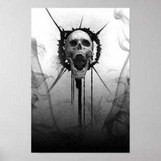 Screaming Skull of Darkness_Poster Poster
