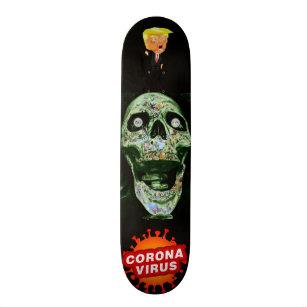 Screaming Skull Skateboard