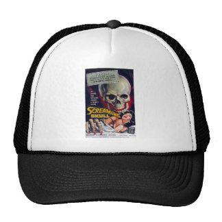 Screaming Skull Trucker Hat