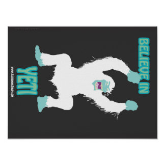 SCREAMING SOUP Believe in Yeti Poster