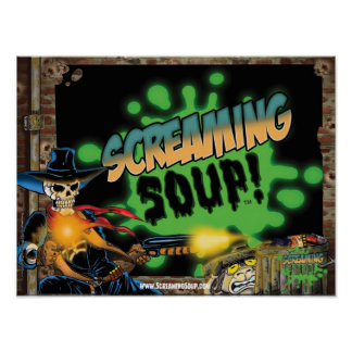 SCREAMING SOUP Deadwest and Billy Shootout Poster