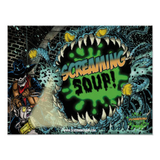SCREAMING SOUP Deadwest in Sewer Poster