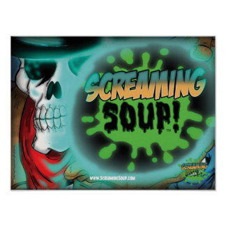 SCREAMING SOUP Deadwest Sphere Poster