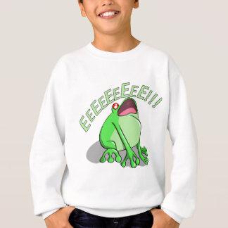 Screaming Tree Frog Doodle Noodle Designs Sweatshirt