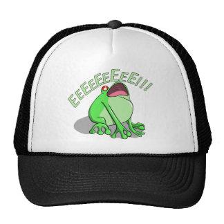 Screaming Tree Frog Doodle Noodle Designs Trucker Hat