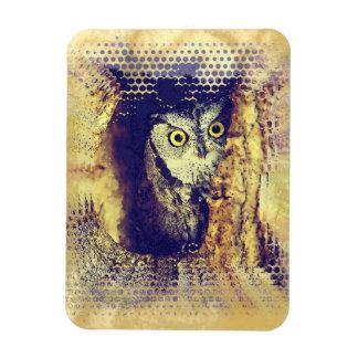 SCREECH OWL Flexible Magnet