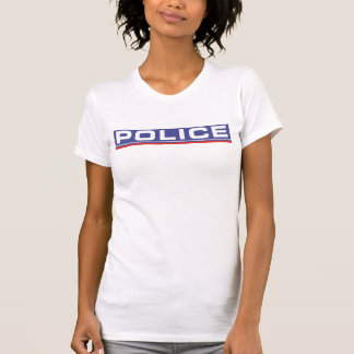 Screen printed national police force Woman T-Shirt