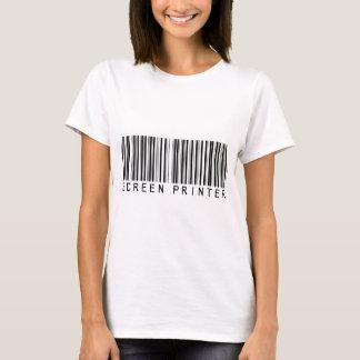Screen Printer Bar Code T-Shirt