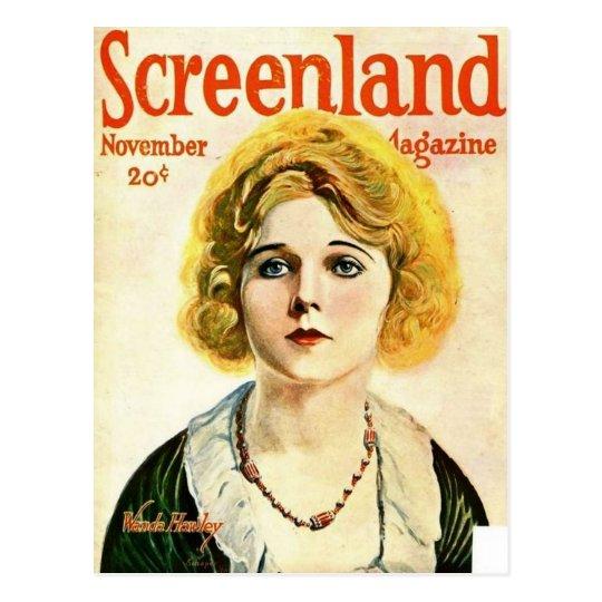 screenland postcard