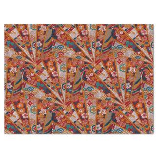 Screens Oriental Fabric Tissue Paper