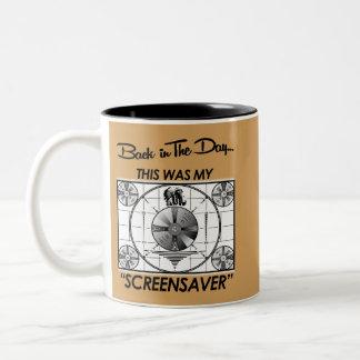 Screensaver Two-Tone Coffee Mug