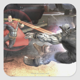 Screenshot: Superman vs Batman 2 Square Sticker