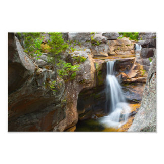 Screw Auger Falls, Maine Photographic Print