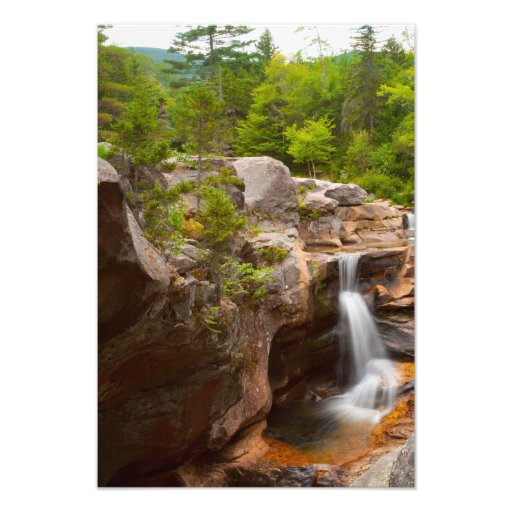 Screw Auger Falls, Maine Photograph
