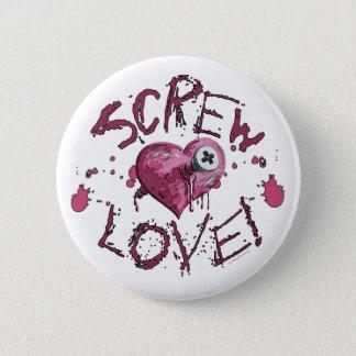 Screw Love Gear 2 Inch Round Button