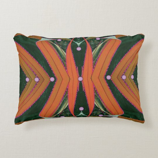 Screw Pine Ribbons Accent Pillow