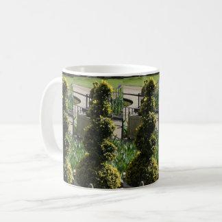Screw Plant White Coffee Mug