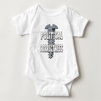 Screw Political Correctness Baby Bodysuit