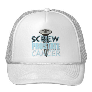 Screw Prostate Cancer Mesh Hat